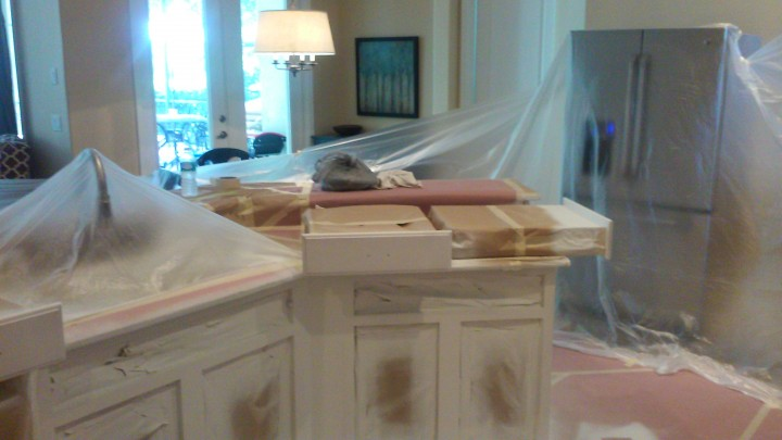 Kitchen Cabinet Painting In Orlando Fl   Kitchen Cabinet Refinishing  Orlando Fl