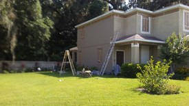 Before & After Exterior Painting in Orlando, FL