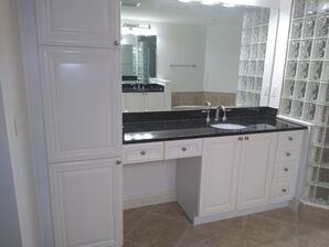 Bathroom Cabinet Painting in Deltona, FL (1)