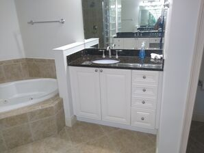 Bathroom Cabinet Painting in Deltona, FL (2)