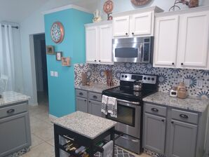 Kitchen Cabinet Painting in Deltona, FL (1)