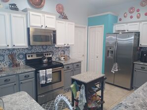 Kitchen Cabinet Painting in Deltona, FL (2)