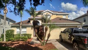 Before & After Exterior House Painting in Orlando, FL (2)